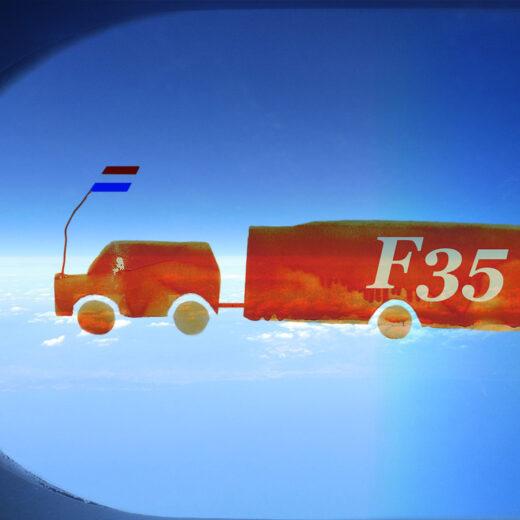 Macht op vrijdag: De F-35 is een vraatzuchtig miljardenmonster
