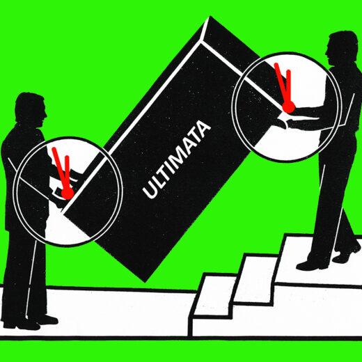 Macht op vrijdag: Vaak is een ultimatum politieke bluf, soms is het menens