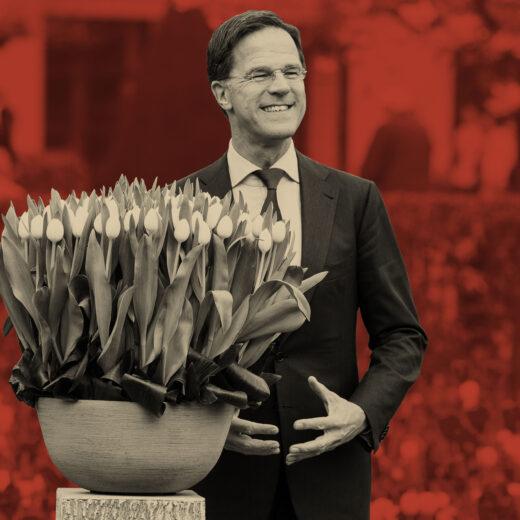 Macht op vrijdag: Niks geen Europa voor Mark Rutte. Hij blijft lekker in het Torentje