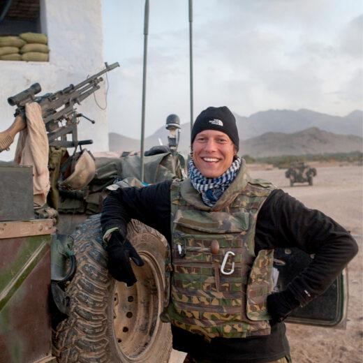 Zijn weduwe over oorlogsfotograaf Jeroen Oerlemans: 'Hij was zó gelukkig'