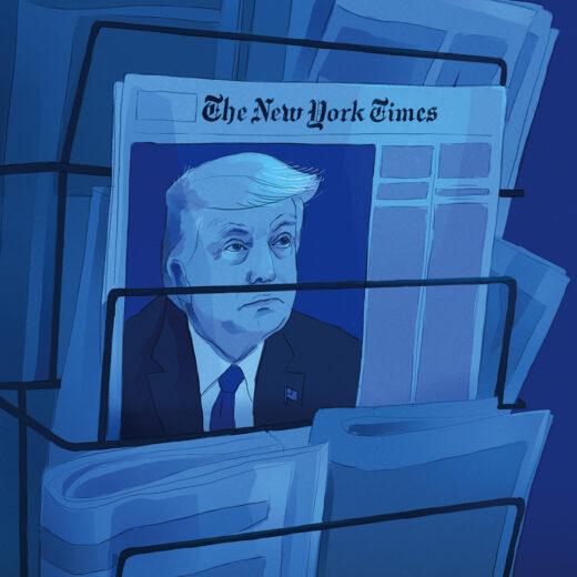 Vier jaar identiteitscrisis in de Amerikaanse journalistiek: 'Ons vak lag nog nooit zo onder vuur'