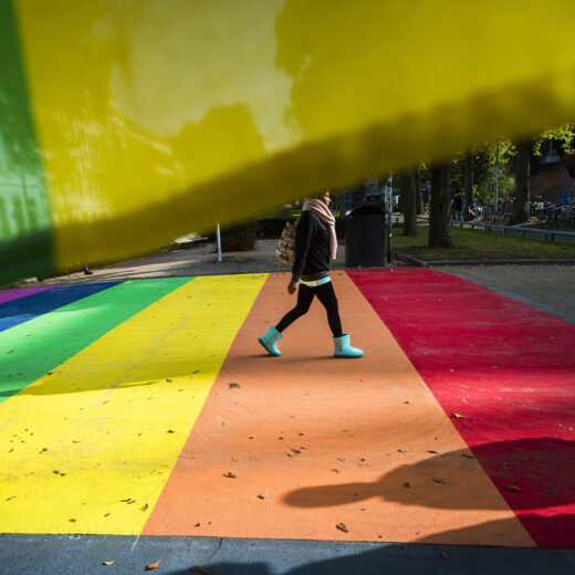 Los van de vlaggen en zebrapaden komt er weinig terecht van lokaal regenboogbeleid