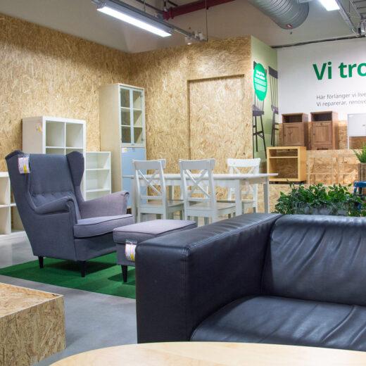 Een gebruikte Billy uit de tweedehands IKEA: hoe de meubelreus probeert te verduurzamen