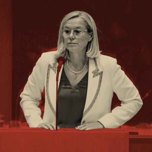 Het aftreden van Kaag is vooral een tegenvaller voor Rutte