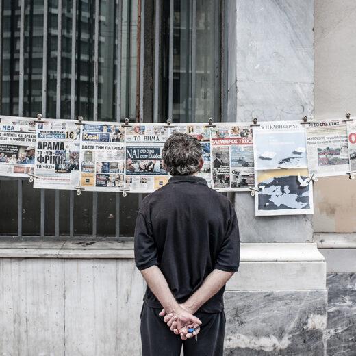 De humanitaire crisis in Griekenland wordt steeds erger